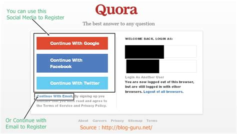 blogger quora how to use quora in increasing your website traffic