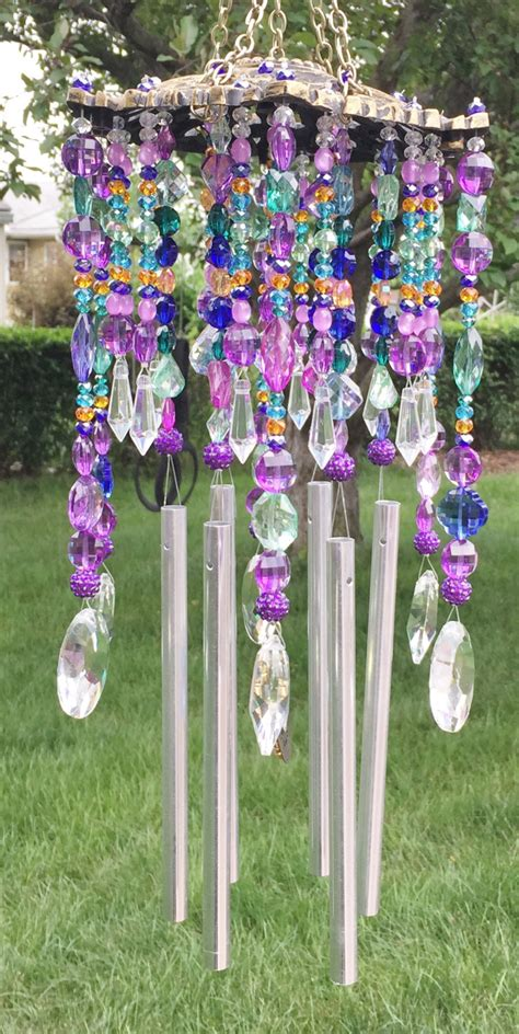 Chandelier Canopy Wind Chime Sun Catcher Beaded Unique Midnight In The