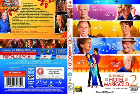 best marigold hotel dvd the second best marigold hotel 2015 dvd cover