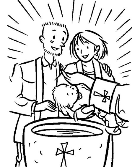 coloring pages jesus baptism christian sacrament of baptism coloring pages christian