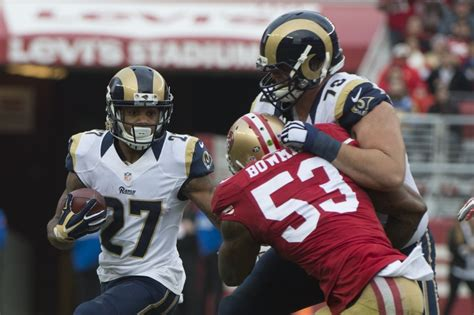 st louis rams tre rams vs 49ers 5 week 1 matchups to for san