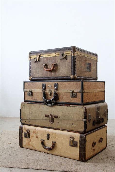 vintage luggage home decor 499 best suitcases images on pinterest vintage trunks