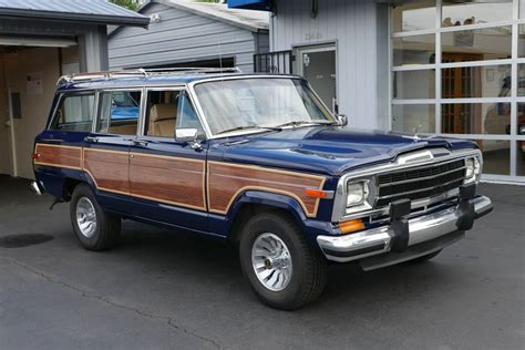 1987 jeep wagoneer 1987 jeep grand wagoneer for sale by owner in se portland
