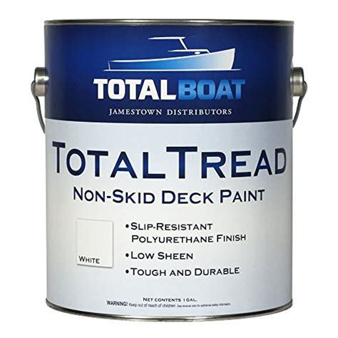 boat deck non skid paint totalboat totaltread non skid deck paint pro boating supply