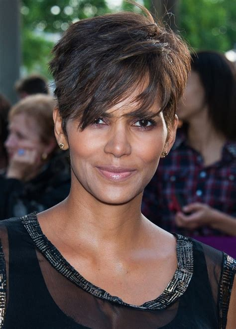 should women in their 40s wear short pixie cuts halle berry stylish short pixie cut for women over 40