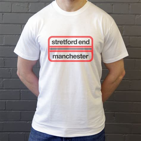 Tshirt Sablon United Stretford End Manchester T Shirt From Tshirtsunited