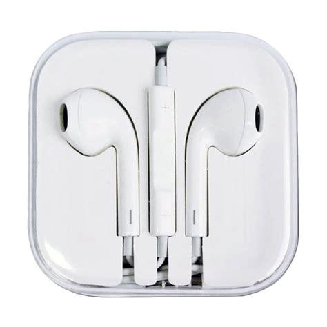 apple earphone harga jual apple earphone for iphone 5 5c 5s putih online