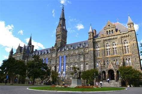 Georgetown Mba One Year Or Two Year by Georgetown Entrepreneurship Alliance
