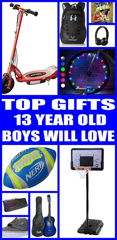 13 year old boy christmas gifts best gifts for 13 year boys