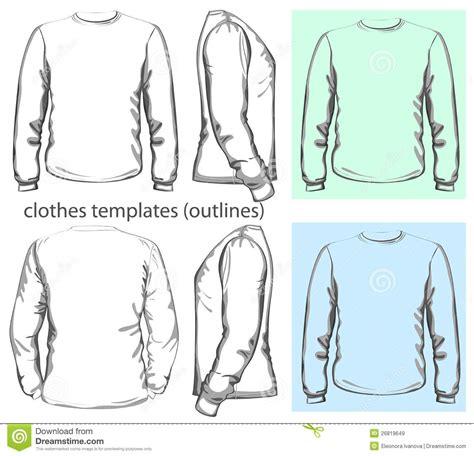 Kaos Panjang Longsleeve Nmax s t shirt sleeve stock vector image of view
