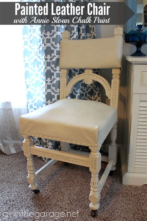 chair repair upholstery makeover painted leather chair makeover with annie sloan chalk