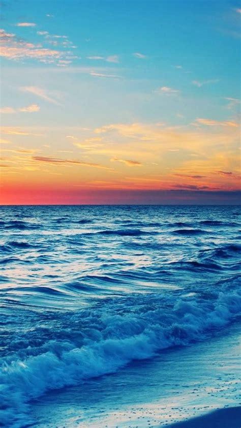 wallpaper for iphone ocean stunning ocean sunset iphone 6 wallpaper 35977 beach