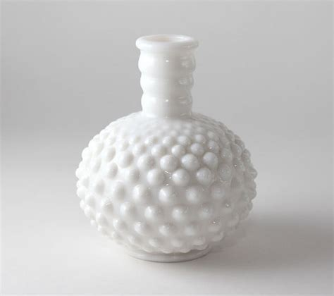 Glass Photo Vase by Milk Glass Vase By The Vintage Traditional