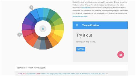 Google Design Lite | how to build a website using google material design how