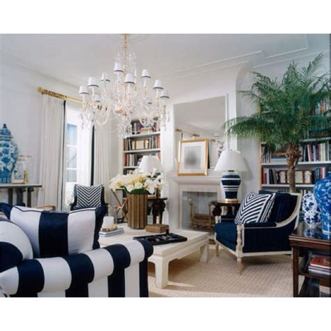 navy white gold living room house becomes new