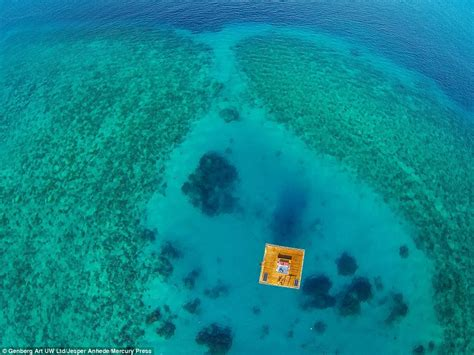 hotel room underwater manta underwater room opens 13ft below indian at 163 1k a daily mail