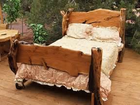 Juniper Wood Bed Frames Juniper Bed Rustic Bed Frames Custom Bunk Beds