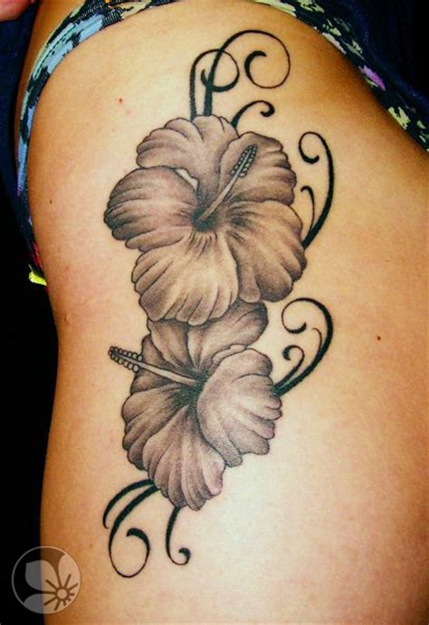 hibiscus tattoo black and grey 1000 images about tattoo hibiscus on pinterest