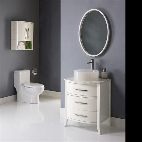 bathroom with white vanity decolav 24 quot lola bathroom vanity white solid wood legs