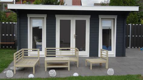 Gartenhaus Anthrazit