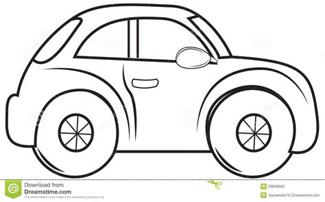 cars coloring book beetle car coloring page stock illustration illustration