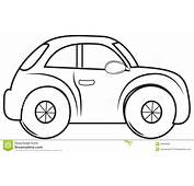 Car Coloring Book  Page For Kids