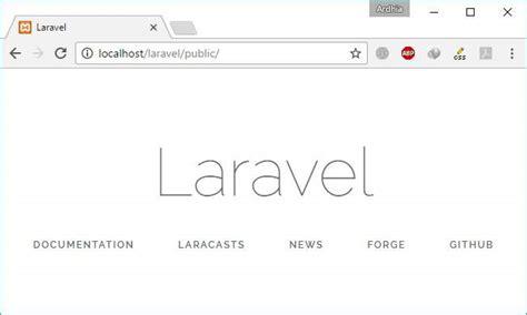 tutorial laravel untuk pemula tutorial laravel untuk pemula instalasi konfigurasi
