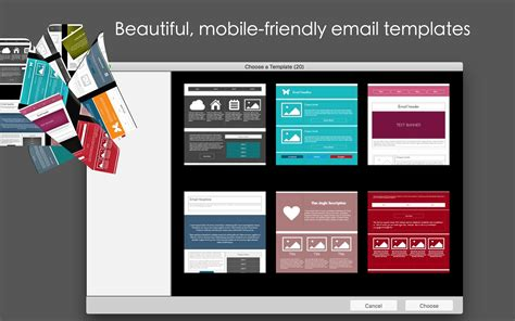 Mobile Email Templates 1 20 Free Download For Mac Macupdate Mobile Email Template
