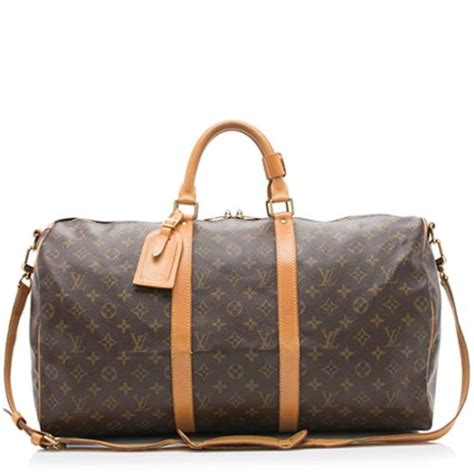 louis vuitton vintage monogram canvas keepall bandouliere