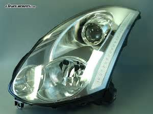 Infiniti Headlights 06 07 Infiniti Cv35 G35 Coupe Skyline Led Headlights