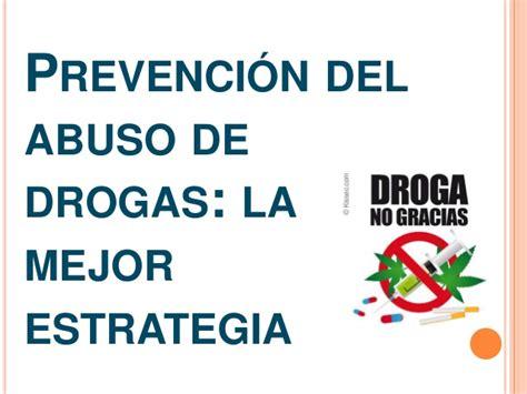 las drogas en la 8417067329 prevencion contra las drogas