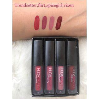Huda Mini Liquid Lipstick huda mini liquid matte lipstick four new lovely