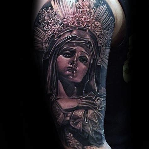 st mary tattoo 100 tattoos for religious design ideas