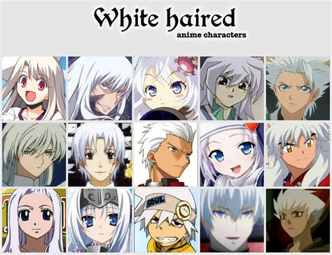 V Anime Names by White Haired Anime Characters By Jonatan7 On Deviantart