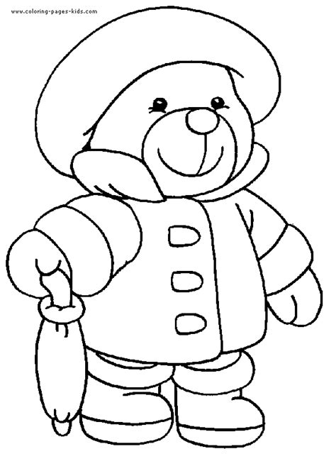 free pages of build a bear 9907 bestofcoloring com
