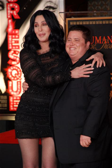 dancing   stars executive producer cher  partner lacey schwimmer defend chaz bono