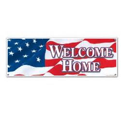 welcome home banner welcome home sign banner