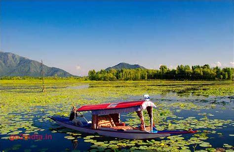 shikara ride in dal lake of srinagar in kashmir valley