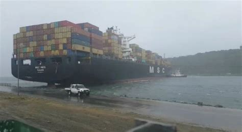 boat finder south africa major storm hits durban and causes chaos with shipping at