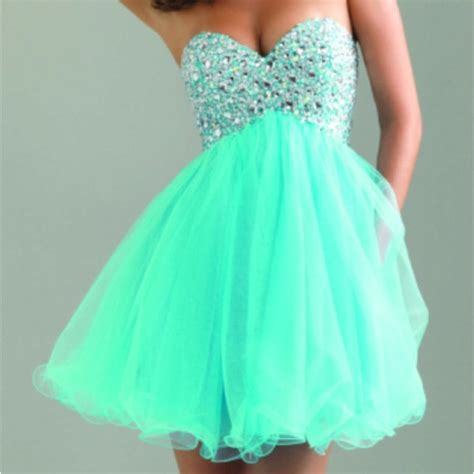 mint color dress dress homecoming teal dress dress prom dress