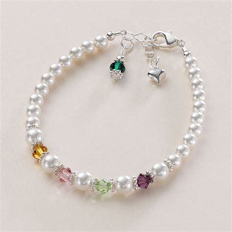 Beautiful Bracelet beautiful family birthstone bracelet jewels 4