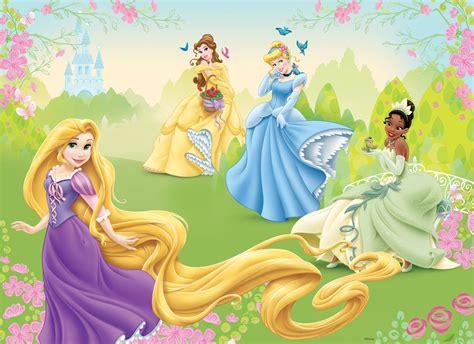 Disney Princess Wall Murals fototapeta dla dzieci disney ksi niczki 3