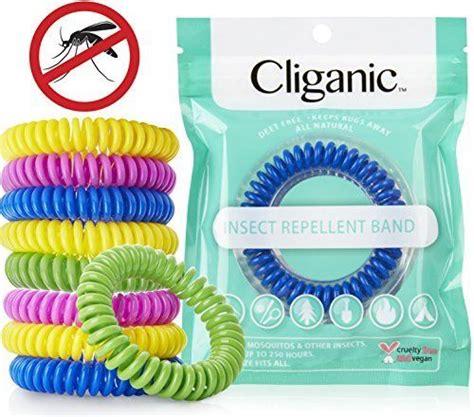 Mosquito Repellent Bracelet cliganic mosquito repellent bracelet 10 pack bug