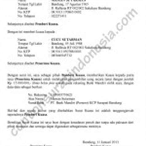 contoh surat kuasa pengurusan pembayaran pajak sepeda motor