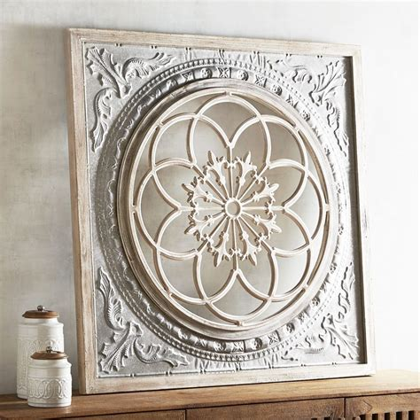 home decor metal wall art wall art designs tin wall art galvanized medallion wall