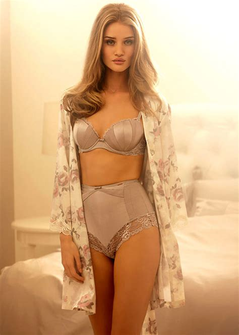 rosie huntington whiteleys  rosie  autograph spring lingerie collection  marks