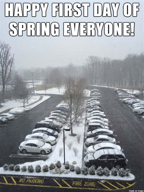 First Day Of Spring Meme - first day of spring 2018 best funny memes about the