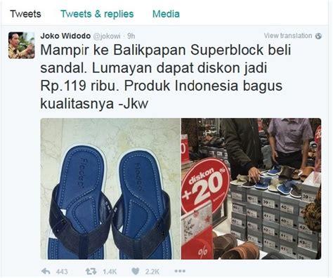 Kaos Walk The Walk 670 cuci mata di mal e walk balikpapan jokowi beli sandal