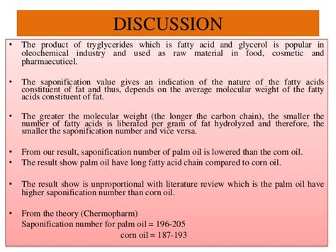 exle of discussion section in lab report lab report lipid