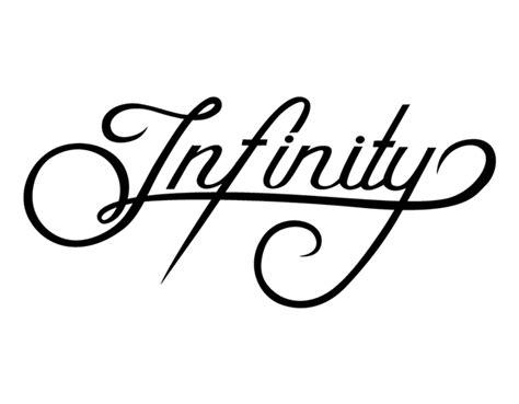tattoo lettering infinity infinity tattoo on behance